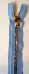 """#4.5G Brass Pants Zipper-9"""""""