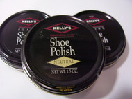 Kelly's 1.5oz Paste Wax Shoe Polish