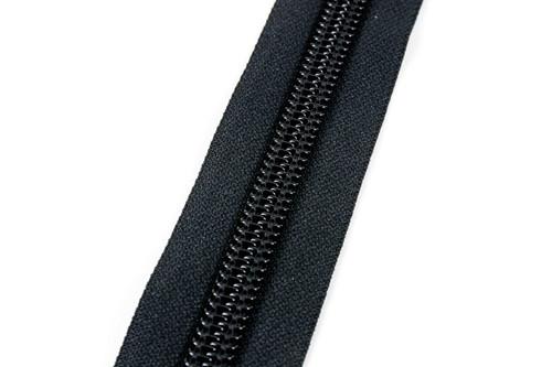 #10CF YKK® Coil Zipper Chain, Black (91100CBK)