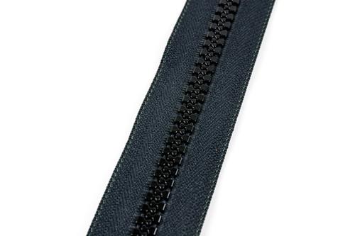 #10VF YKK ®Nylon Molded Tooth Zipper Chain, Black (91100MBK)