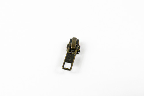 #7M Ant. Brass Locking Slider (90070TABAS )