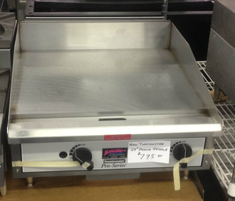 TOASTMASTER TMGM24, 24in MANUAL GRIDDLE