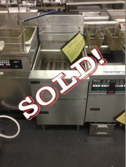 PITCO SFSE14 FRYER WITH FILTRATION SYSTEM