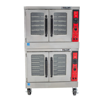 VULCAN GAS CONVECTION OVEN - DBL STACK