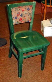 Cafe Chair Assorted Colors