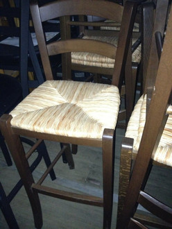 NEW!! BARSTOOL WITH RATAN SEAT