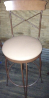 METAL FRAME BAR STOOL