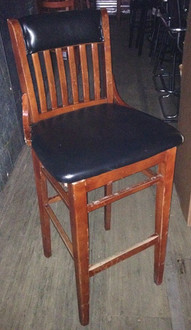 ABC LIBRARY STYLE BAR STOOL