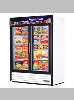 NEW TRUE GDM-49F 2 DOOR FREEZER MERCHANDISER - CALL FOR PRICING