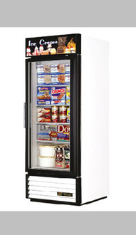 NEW TRUE GDM-23F SINGLE DOOR FREEZER MERCHANDISER - CALL FOR PRICING