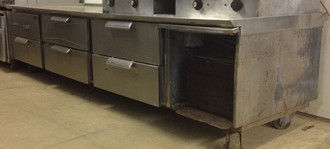 RANDELL 9' GRILL STAND
