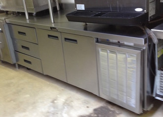 "DELFIELD 84"" WORK TOP COOLER"