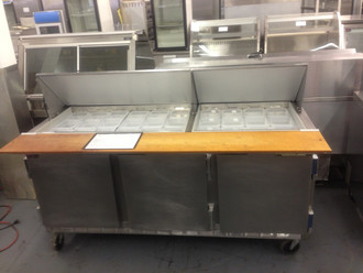 BEVERAGE AIR SP7230M 72in SANDWICH PREP UNIT