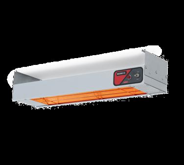 "NEW-Bar Heater, 36-1/4"" x 6-3/4"" x 2-3/4"", calrod heating element, toggle switch, indicator light, aluminum shell, 120v/60/1ph, 850 watts, 7.1 amps, cord & plug, UL, cUL, NSF"