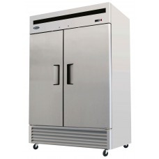 B-Series Reach-In Freezer, two-section, self-contained refrigeration, 46.0 cu. ft. capacity, -8° to -0°F temperature range, (2) locking hinged self-closing doors, (6) adjustable shelves, ventilated refrigeration, interior lighting, automatic evaporation, digital temperature control, electric defrost, stainless steel interior & exterior, galvanized steel back, bottom mounted refrigeration, 1170 watts, 115v/60/1-ph, 12.0 amps, 3/4 HP, cETLus, ETL, CE, ENERGY STAR®