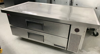 """TRUE TRCB-52-60 60"""" REFRIGERATED GRILL STAND"""