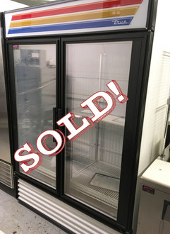 GDM-49F Freezer Merchandiser, two-section, -10?ø F, (8) shelves, laminated vinyl exterior, white interior with stainless steel floor, (2) triple-pane thermal glass hinged door, LED interior lights, R290 Hydrocarbon refrigerant, 3/4 HP, 115/208-230v/60/1, 12.3 amps, NEMA 14-20P, 9' cord, cULus, UL EPH Classified, MADE IN USA, ENERGY STAR??.  BRAND NEW COMPRESSOR INSTALLED OCTOBER 2016.  NBm.