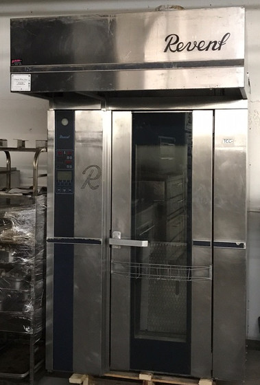 "Roll-In Rotating Rack Oven, electric, single, (1) single rack capacity, computer controls with 500 programs, total convection control system & heavy duty steam system, auto damper, burner & vent package, overhead lift, ""700 Series Deep Canopy"", TCC air distribution, full length window in door, 41.0 kW"