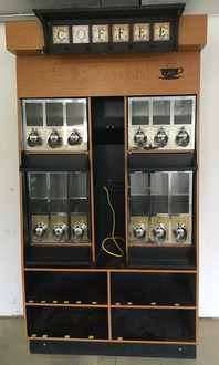 BULK COFFEE DISPLAY CASE