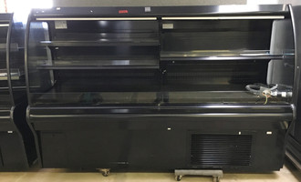 "HUSSMANN IM-04-15-S MEDIUM TEMP SELF SERVICE MULTI-DECK SELF CONTAINED OPEN FRONT MERCHANDISER.  48"" X 36"" X 64"" TALL.  208/240V 1 PHASE."