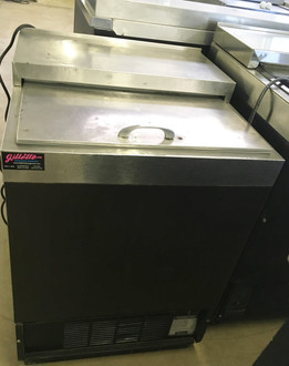 """Glass Froster, underbar, 24""""W, self-contained refrigeration, -10?øF to 10?øF temperature range, (3.75) cu.ft. interior volume, front vented, manual defrost, self-evaporating condensing pan, stainless steel top & interior, R134a, 1/3 HP, 115v/60/1-ph, 5.8 amps, 6' cord & NEMA 5-15P, NSF, cULus. NBm."""