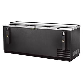 Bottle Cooler, flat top, (30cs) 12oz bottles or (42cs) 12oz can capacity, stainless steel counter top & (3) lids, barrel locks standard, well design, galvanized interior, black vinyl exterior, (6) PVC coated adjustable bin dividers, removable bottle cap opener & cap catcher, 1/3 HP, 115v/60/1, 8.7 amps, NEMA 5-15P, UL, CSA, UL EPH Classified, MADE IN USA