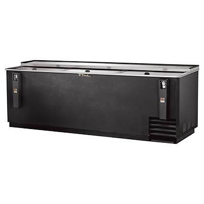 Bottle Cooler, flat top, (37.5cs) 12oz bottles or (55cs) 12oz can capacity, stainless steel counter top & (3) lids, barrel locks standard, well design, galvanized interior, black vinyl exterior, (7) PVC coated adjustable bin dividers, removable bottle cap opener & cap catcher, 1/2 HP, 115v/60/1, 9.2 amps, NEMA 5-15P, UL, CSA, UL EPH Classified, CE, MADE IN USA