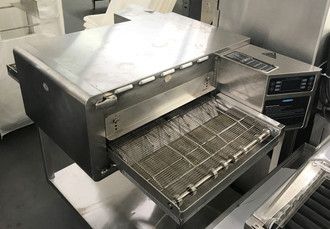 "High h Conveyor 2020™ Conveyor Oven, Rapid Cook, electric, countertop, single deck, 20"" wide belt, 20"" cook chamber, variable speed motor, idle mode, built-in self diagnostics, smart voltage sensor technology, cool to touch covers and panels, stainless steel front, top, sides and back, stainless steel interior, cULus, CE, UL EPH Classified, ANSI/NSF 4, TUV (standard)"