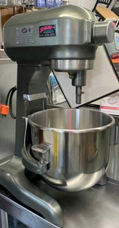 light green 20 qt hobart mixer, hobart mixer, 20 qt hobart mixer 1 phase