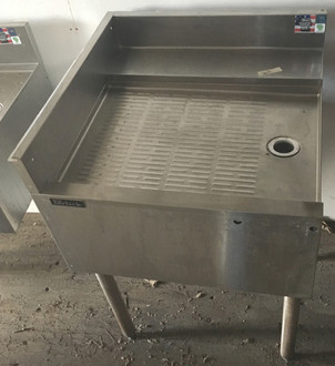 perlick under bar drainboard, under bar drain board, perflick under bar drain board square, under bar drain board square, square under bar perlick drainboard
