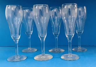 USED CHAMPAGNE GLASSES
