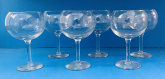 USED GLOBE WINE GLASSES