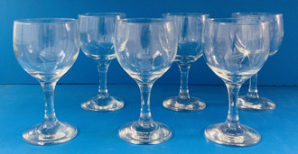 USED WINE GLASS