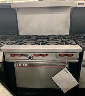 Garland/US Range, Garland Range, 6 Burner Range, Used Cooking Equipment