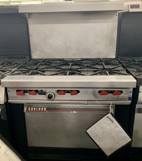 Garland/US Range, Garland Range, 6 Burner Range, Used Cooking Equipment