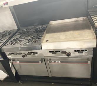 Garland/US Range, Garland Range w/ Griddle, Garland Range w/ 2 ovens, Used Cooking Equipment