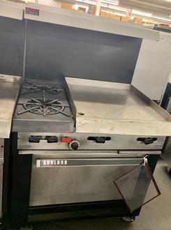 Garland/US Range, Garland Range w/ 2 burners and griddle, Garland Range w/ Standard Oven, Used Cooking Equipment