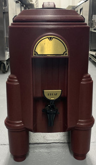 USED CAMBRO CSR3 3 GAL. INSULATED DRINK DISPENSER.