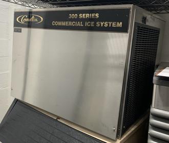 USED Cornelius ice head 300 series, WC300. Water-cooled.