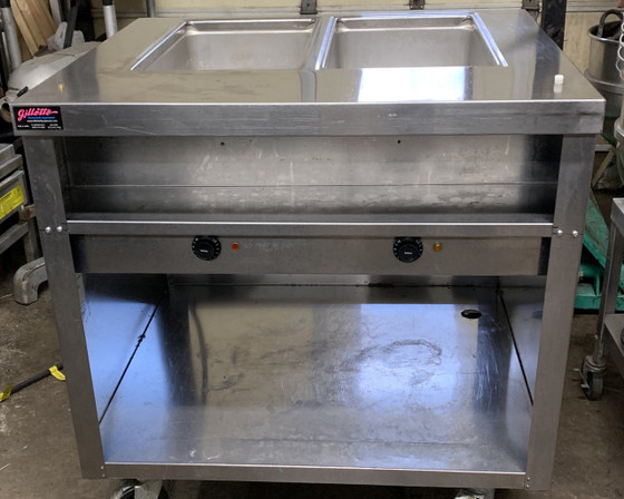 Delfield, Delfield Used, Used Steam Table, 2 Well Steam Table, Used Steam Equipment