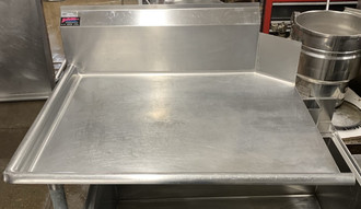 """USED left clean dish table 36"""""""