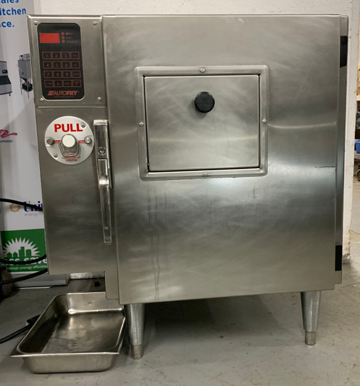 Autofry® Ventless Fryer, electric, countertop, 2.75 gallon / 10.41 liter oil capacity, 30-60 lb fry production per hour, fully automated & enclosed, programmable keypad, exhaust system with baffle filter, ANSUL® fire suppression, non-stick coated baskets, stainless steel construction, legs, 5.7kW, 208-240v/60/1-ph, 23.75 amps, cord, NEMA 6-30P, cULus, NSF, CE
