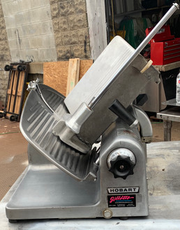 USED HOBART 1612 MANUAL SLICER, 115V.  LOCATED: NORTH BROOKFIELD