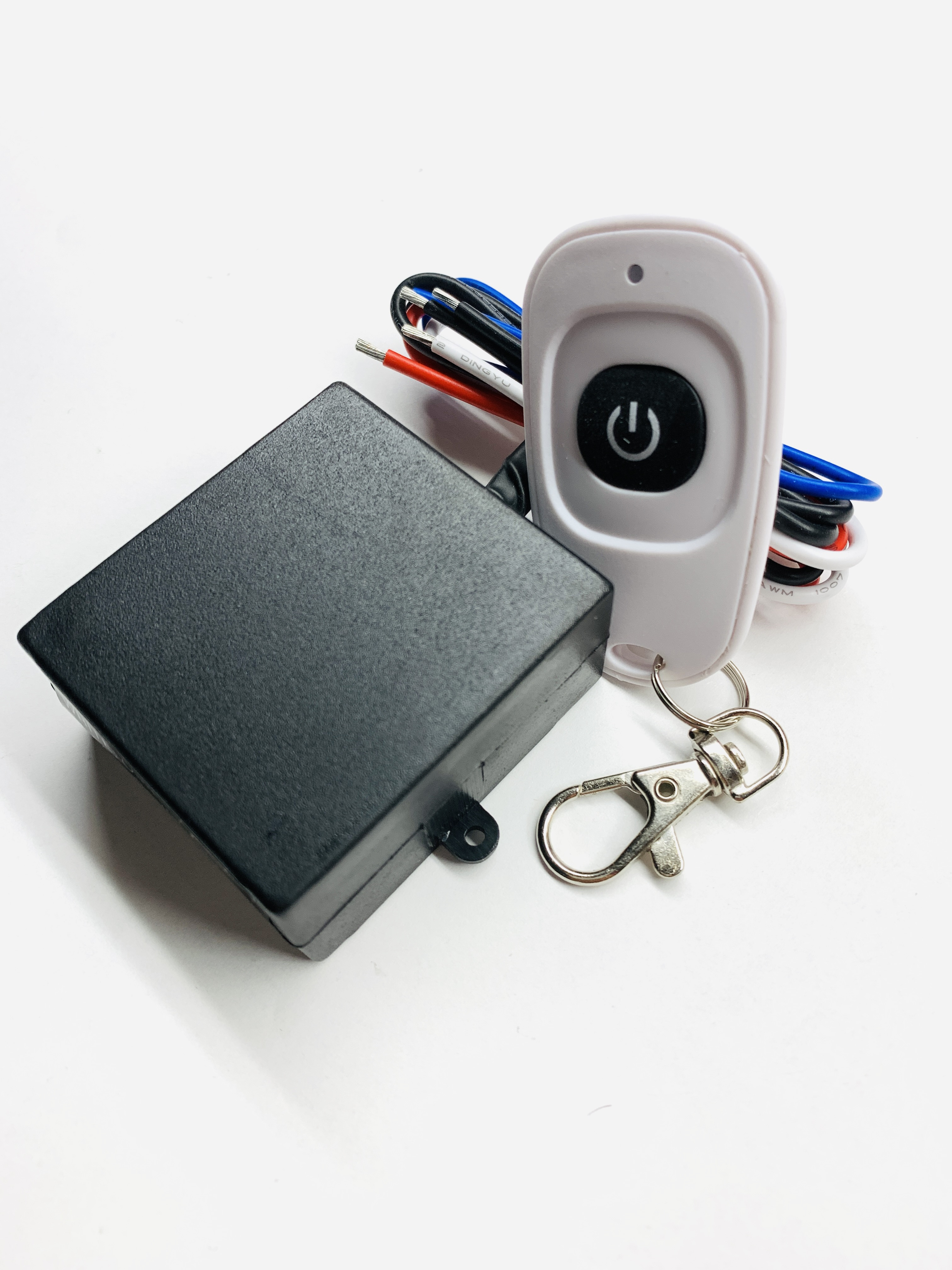 MSD 12V DC On-Off Wireless key fob remote control relay switch with