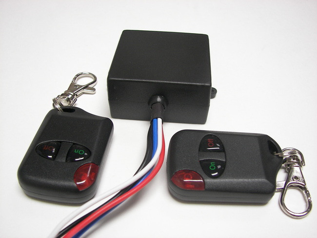 MSD 12V DC On-Off Wireless key fob remote control relay switch with 12v  output