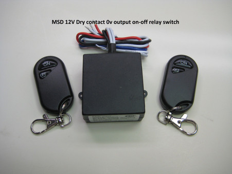 12v dry contact output switch with remote control