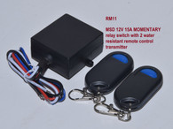 12v switch equipped with a 15A mechanical switch