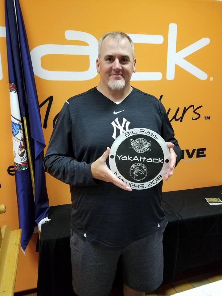 YakAttack 2018 Big Bass Winner Steve Owens