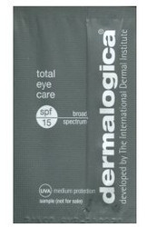 Dermalogica Total Eye Care Trial Sample