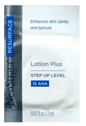 Neostrata Lotion Plus AHA 15 Trial Sample